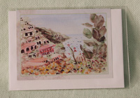 Greeting card - Positano