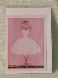 Greeting card - Pearl