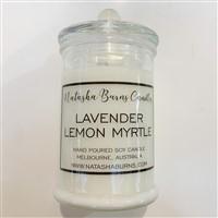 Single Large Glass Jar black label range - Pure Soy Candle - you choose scent