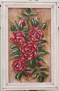 Red Roses Original Painting