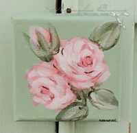 Rose little painting