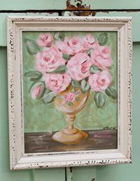 Pink Roses Original Painting