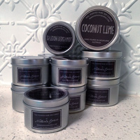 Large Pure Soy Candles (Set of 3 - you select scents)