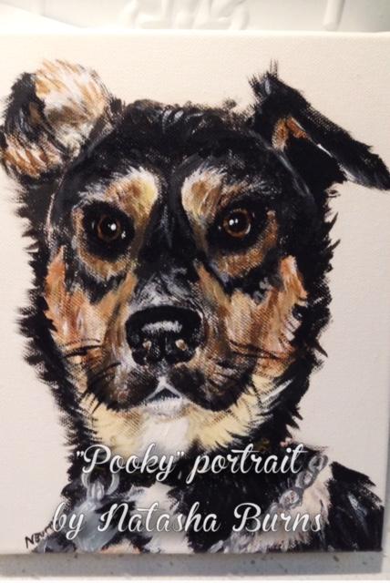 portrait pooky